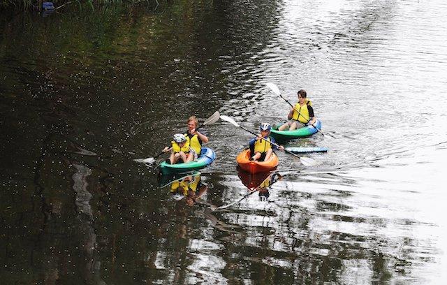 Warrandyte kayaking river